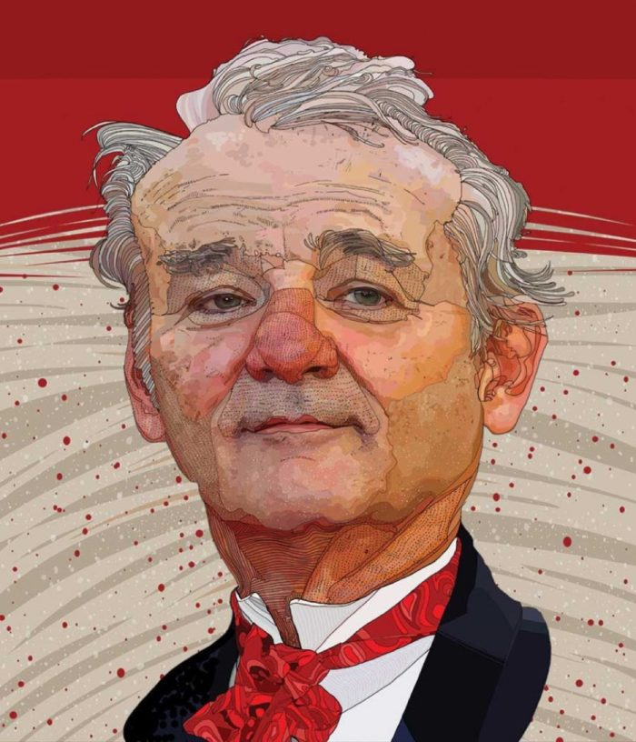 Bill Murray by Tony Rodriguez for the Mark Twain Awards